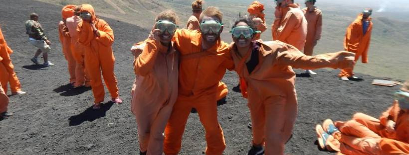 volcano boarding nicaragua leon